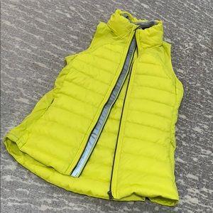 Lululemon yellow puff vest